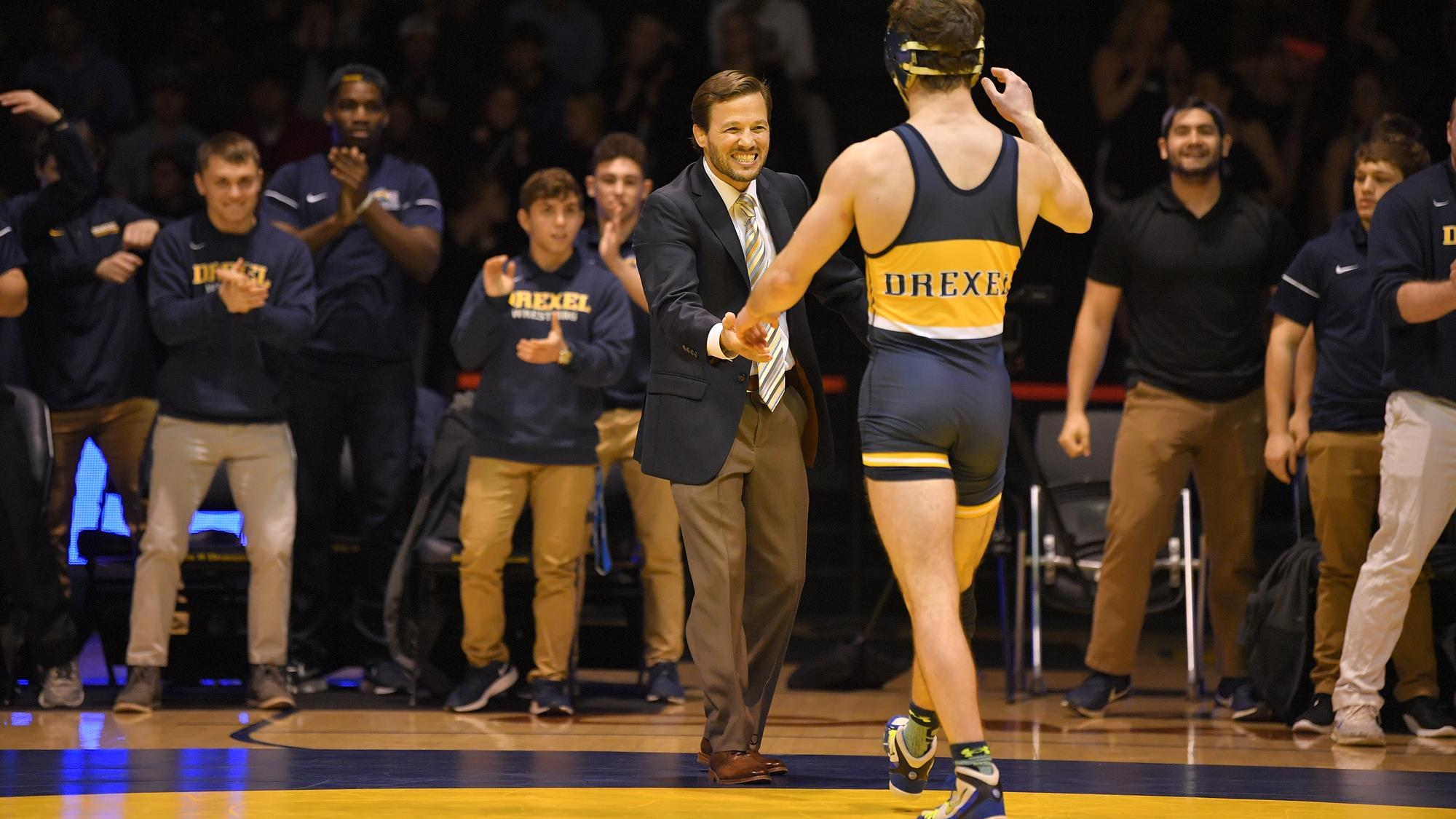 Wrestling Drexel University Athletics